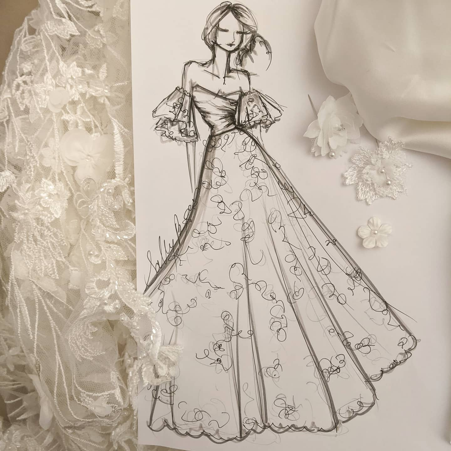couture modern bride