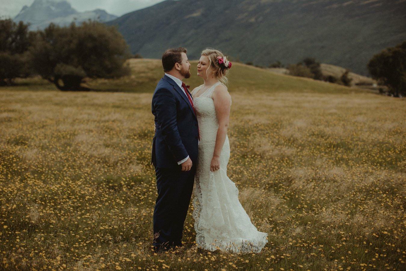 Romantic, modern wedding dresses
