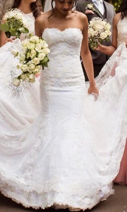 Real Bride Sally Bean Couture