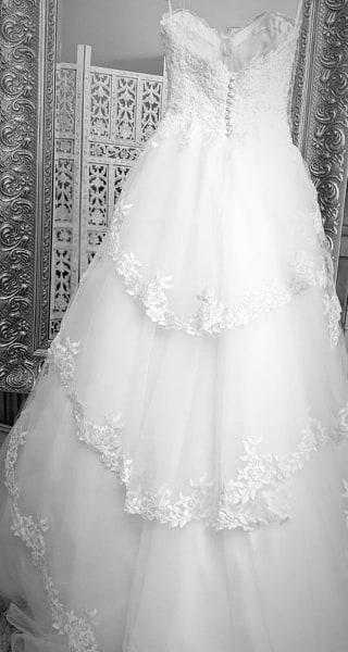 Stunning real bride