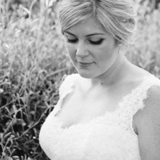 Beautiful Couture real bride silk wedding dress