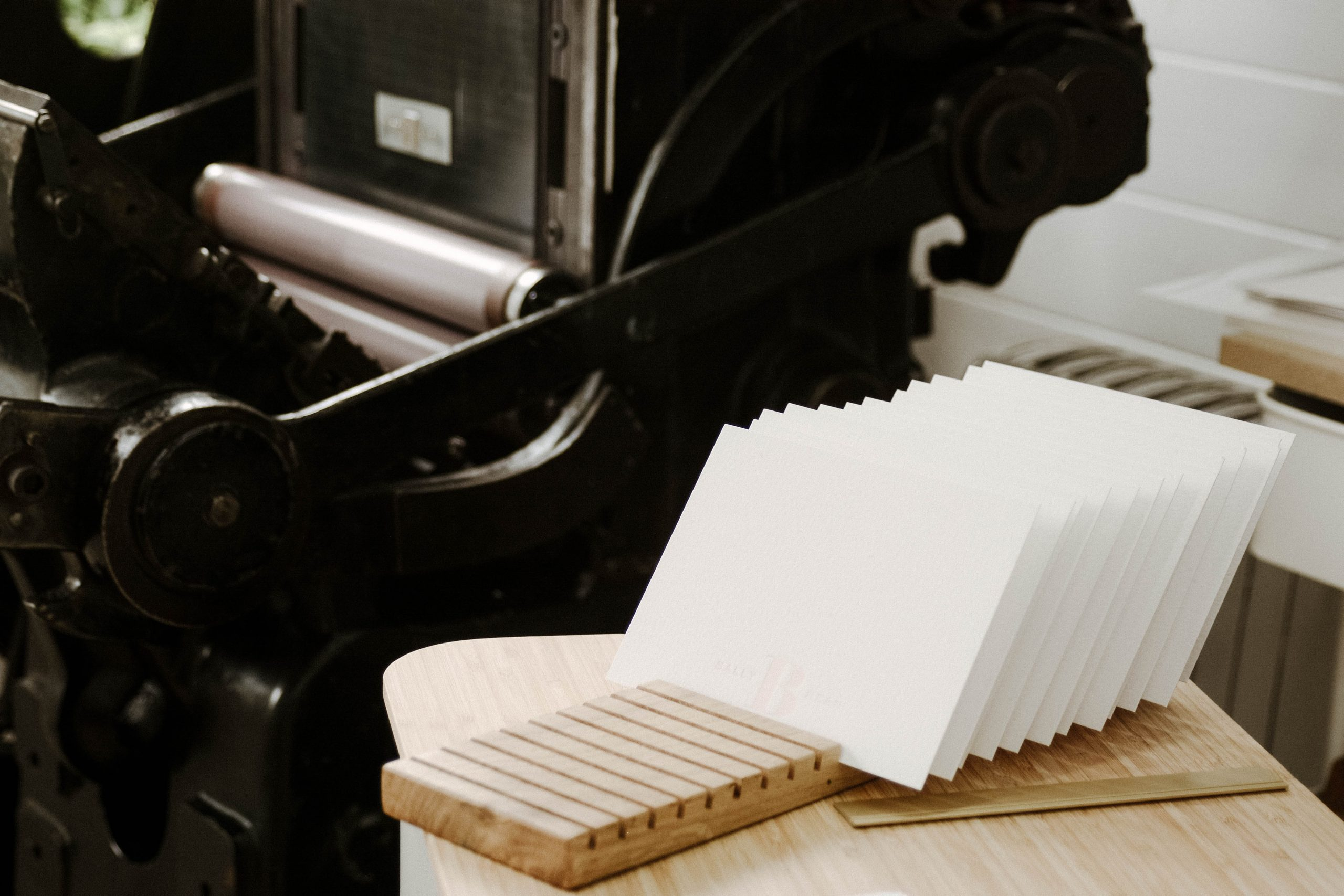 Beautiful letterpress stationery london