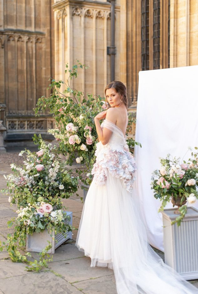 London bespoke bridal designer London